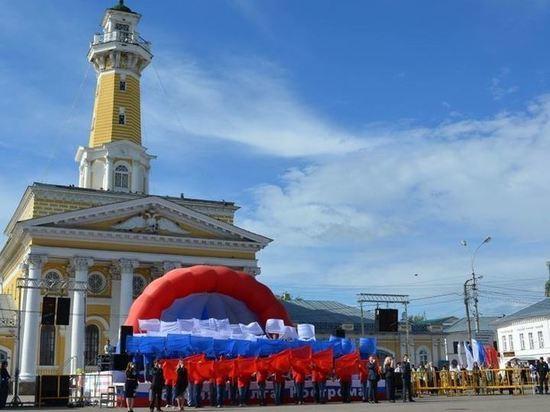 В Костроме ограничили движение транспорта из-за праздничных мероприятий