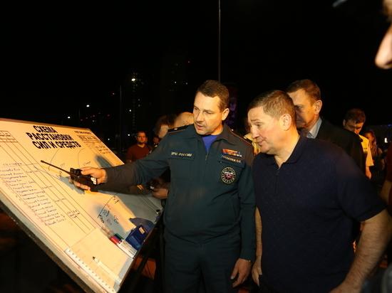 Губернатор Андрей Бочаров выехал на место крушения катамарана на Волге