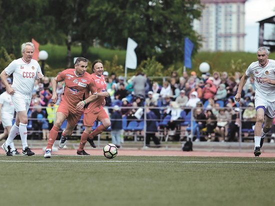 Команда молодости  нашей сыграла в Москве