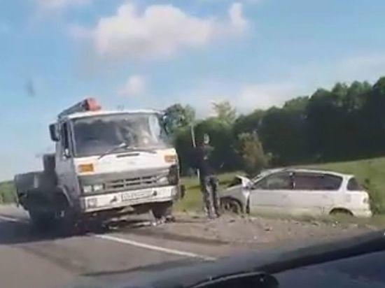Житель Кузбасса погиб при столкновении с
