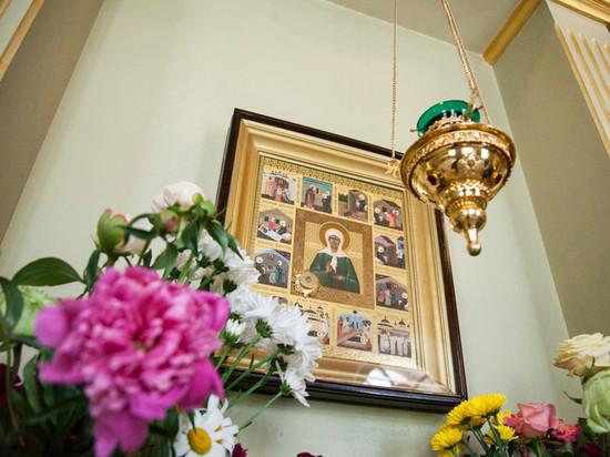 В Тамбове состоялись проводы мощей Матроны Московской