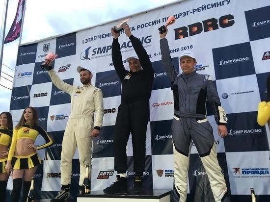 Алексей Калашников занял 3 место на Чемпионате России по дрэг-рейсингу SMP RDRC