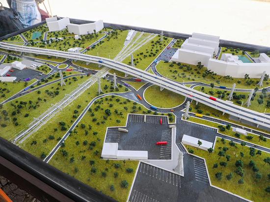 Строительство развязки на М-5 в Тольятти планируют закончить в 2019 году