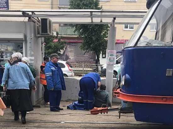 В Ульяновске под трамвай попала пожилая женщина