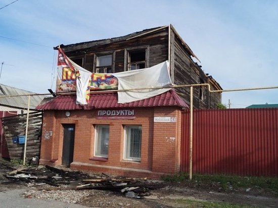 При пожаре в Сызрани погибли два человека