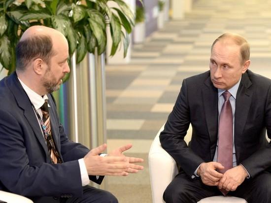 Клименко снят с должности советника Путина по вопросам развития интернета