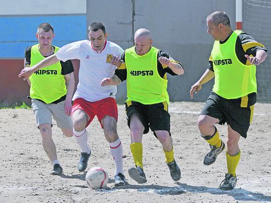 Под Воронежем в ИК строгого режима открылся свой чемпионат мира по футболу