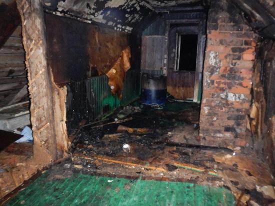 Житель Шарьи погиб на пожаре в своем доме