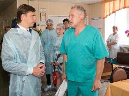 Клычков навестил пострадавших в страшном ДТП в Орловском районе