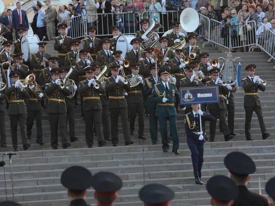 В Тамбове состоялся Международный фестиваль духовых оркестров