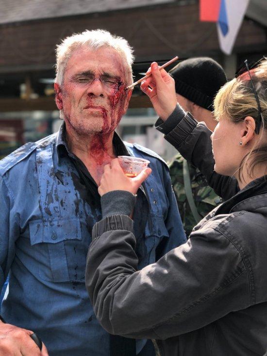В «Балканском рубеже» все трюки 78-летний актер выполняет сам