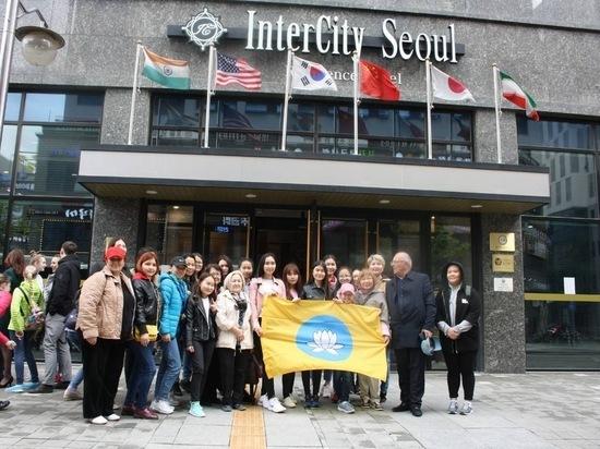 Молодежь Калмыкии покорила Корею