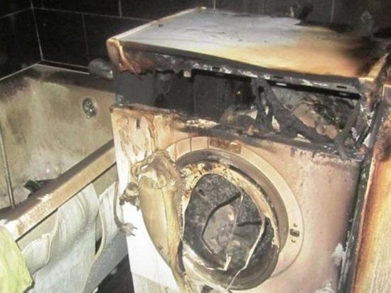 Неисправность стиральной машины стала причиной пожара в жилом доме Костромы