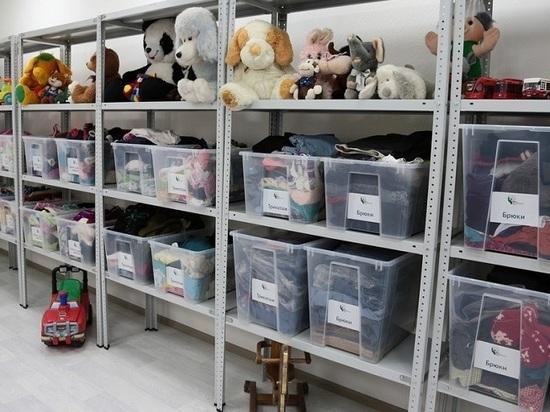 В Казани у склада «Хорошие руки» открылись два дополнительных пункта приема вещей
