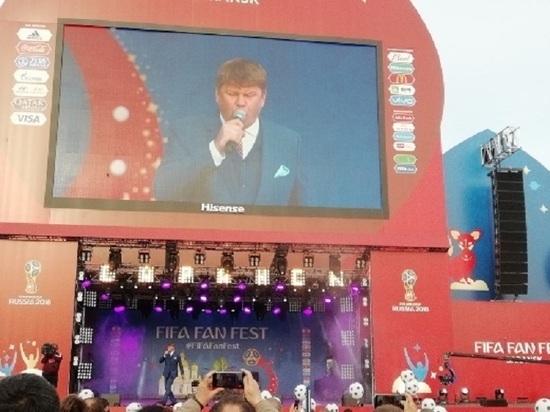На открытие Фестиваля болельщиков в Саранске пришли 19 тысяч зрителей