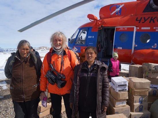 Нижегородский путешественник Валентин Ефремов установил крест на мысе Дежнева
