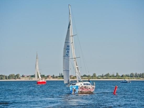 Яхтсмены устроили гонку под Волгоградом