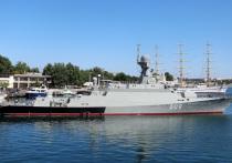 Корабль «Вышний Волочек» приняли в состав Черноморского флота