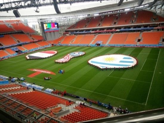В Екатеринбурге отрепетировали матч Египет-Уругвай