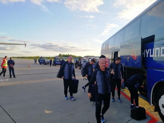 В Казань на ЧМ-2018 прилетела сборная Франции