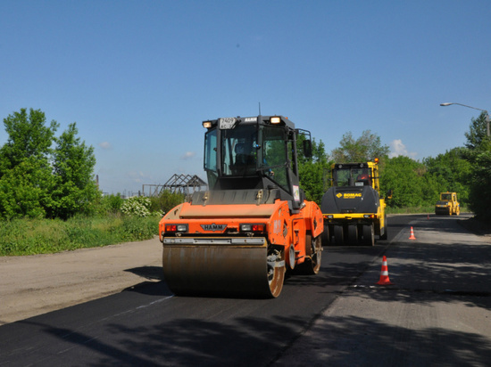 В Новоалтайске реализуют проект «Безопасные и качественные дороги»