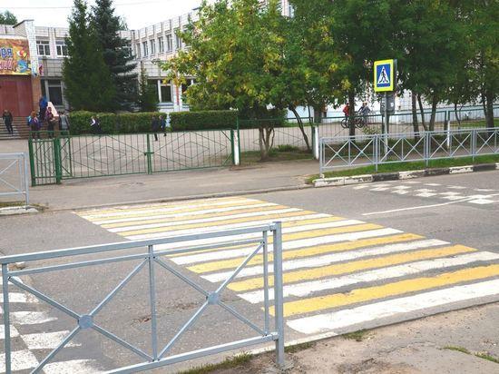Опасные участки дорог в Костроме закроют от пешеходов специальными барьерами