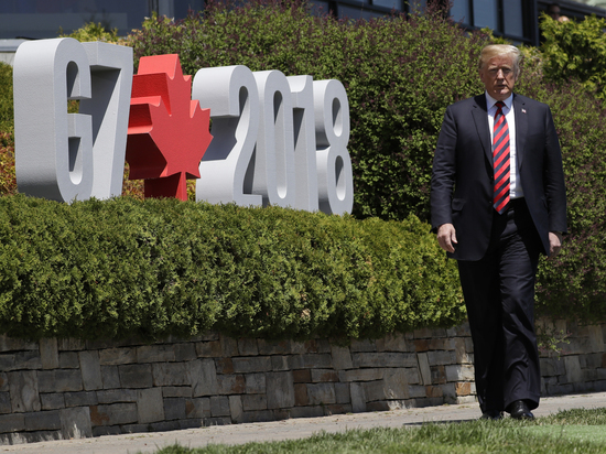BuzzFeed: Трамп назвал Крым российским во время саммита G7