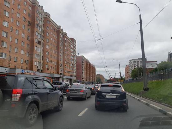 Улица Горького встала в пробке из-за ЧМ 2018