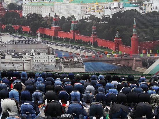 В день празднования Ураза-байрам в Москве перекроют часть улиц