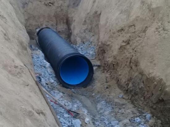 В Барнауле заменили трубопровод канализации за 4,7 млн рублей