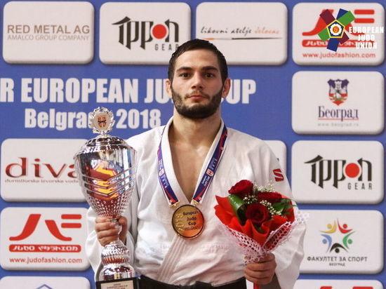 Спортсмен из Кузбасса выиграл Кубок Европы по дзюдо