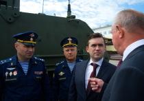 Ивановские десантники продемонстрировали губернатору новую технику
