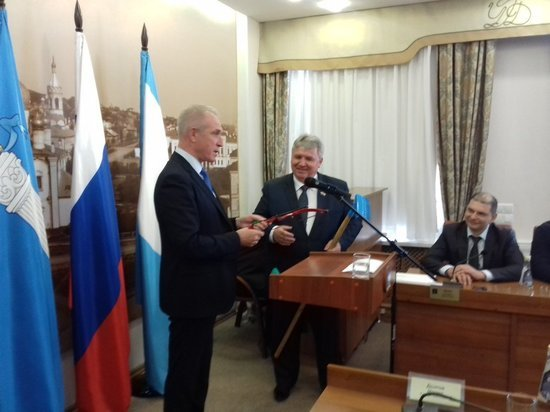 Сергей Панчин стал главой Ульяновска