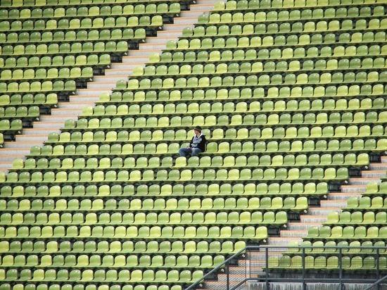 При реализованных билетах пустыми остались около шести тысяч мест