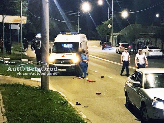 Ночью в Белгороде насмерть разбился байкер