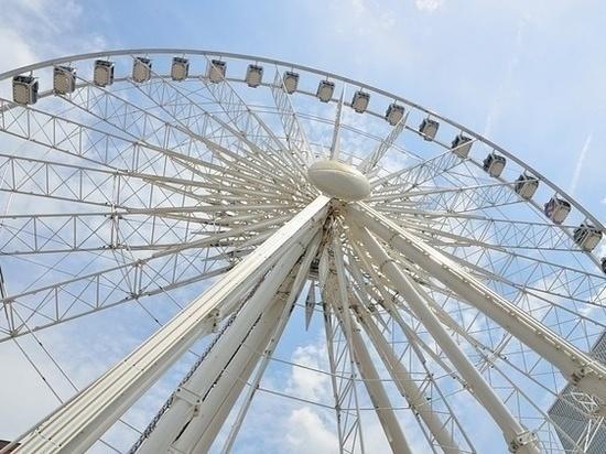 В Самаре к концу июля установят 55-метровое колесо обозрения