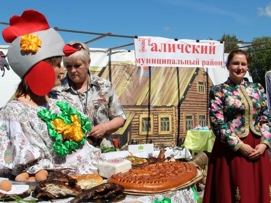 Изобилие сельхозпродукции Костромской области продемонстрировали на Дне села