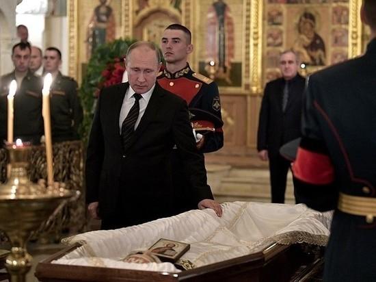 Владимир Путин простился соСтаниславом Говорухиным