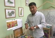 В Калмыкии модно рисовать