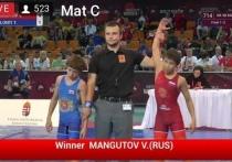 Спортсмен из Калмыкии стал первым в Европе
