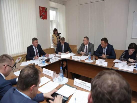В Устюженском районе Глава Вологодчины провёл первое заседание градостроительного совета