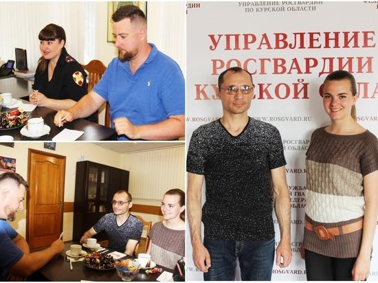 Курские блогеры нашли общие точки соприкосновения с Росгвардией