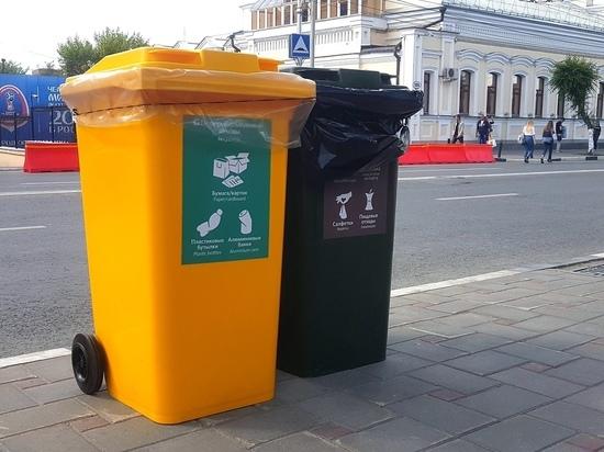 В Самаре к ЧМ-2018 установили 1 100 контейнеров для раздельного сбора мусора