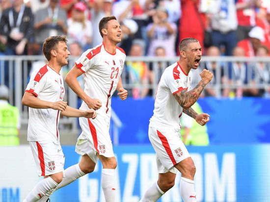 Сербия побеждает Коста-Рику в первом матче на «Самара Арене»