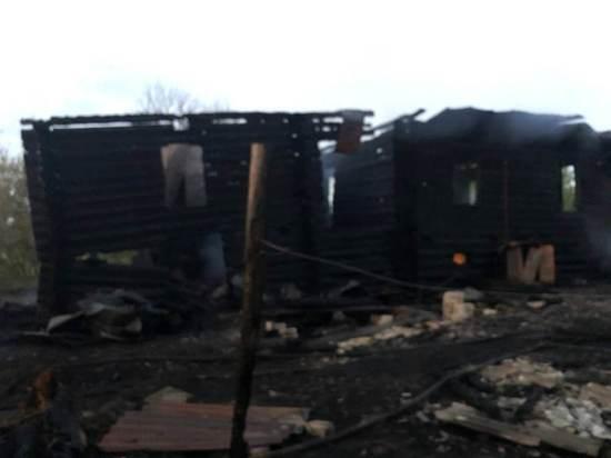 На пожаре в поселке Воймас погиб пенсионер