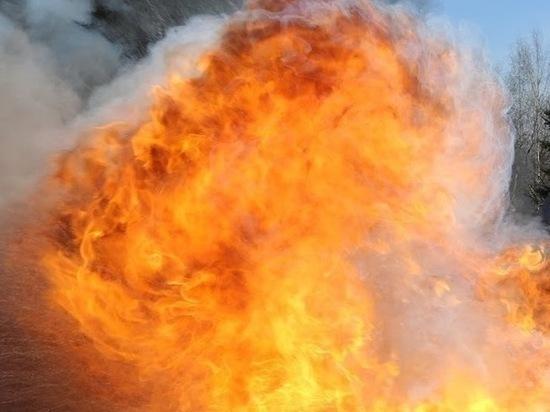 В Ульяновске на улице Крымова горел балкон многоэтажки