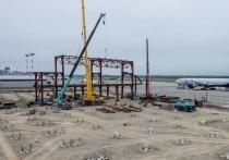 На новом аэровокзальном комплексе продолжаются работы