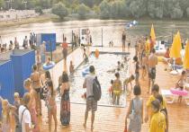 В Краснодаре — в городе у реки — купаться запрещают