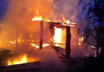 В Чувашии неизвестные сожгли жилой дом