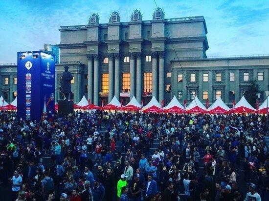 Самарский фан-фест стал самым популярным среди проходящих в городах Поволжья, принимающих ЧМ-2018